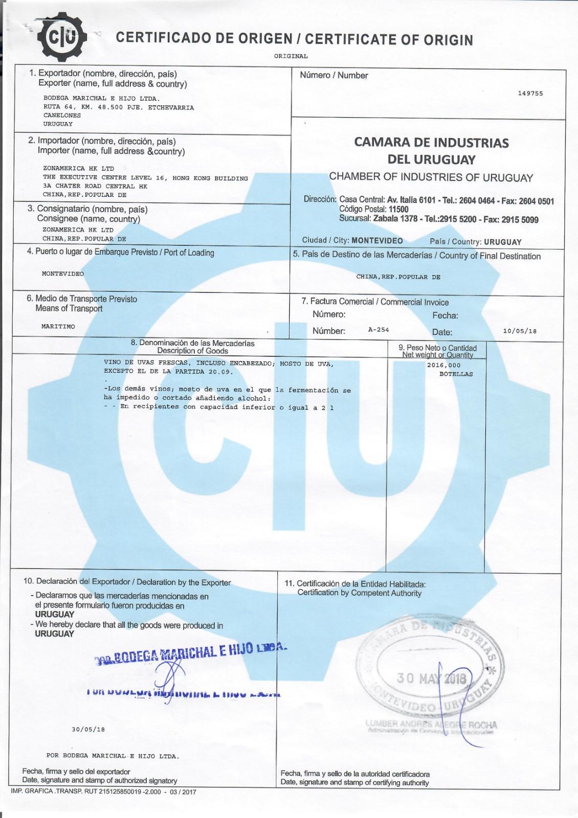 marichal certificado de origen.jpeg