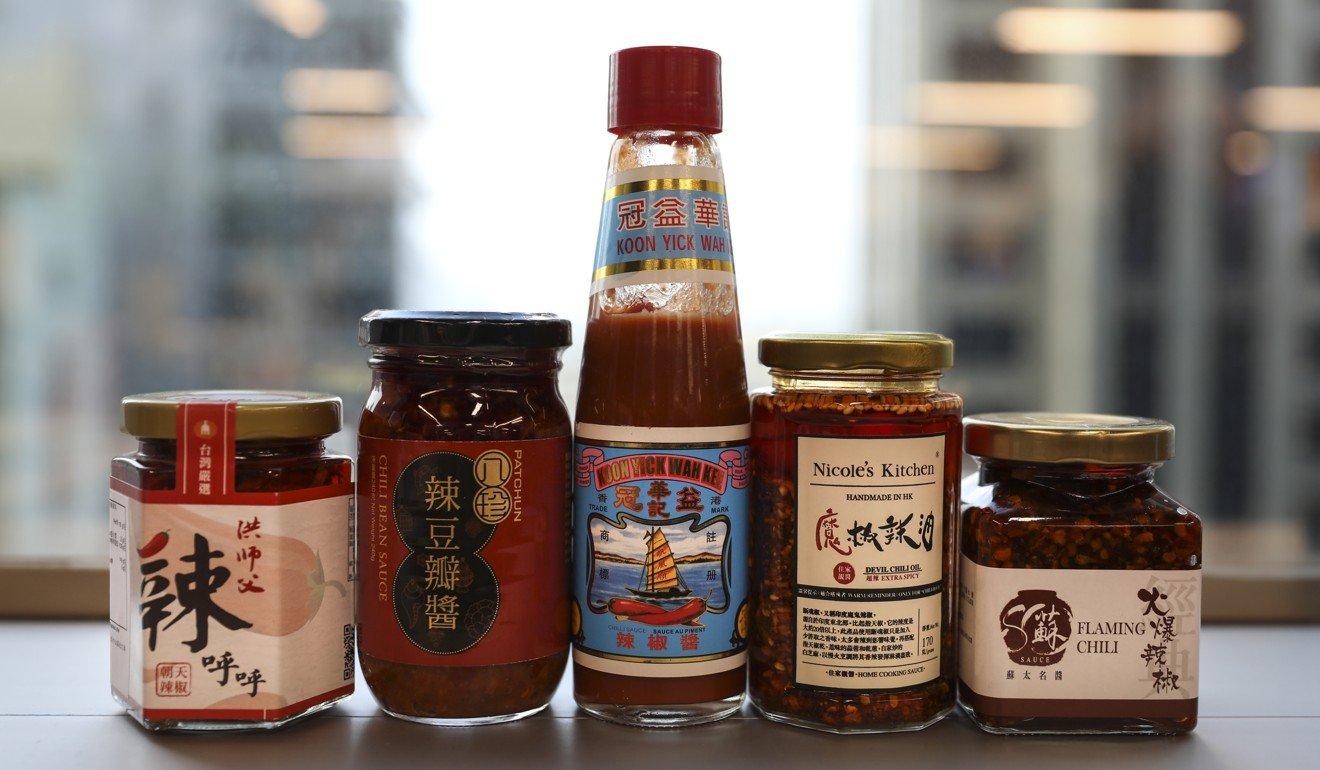 Chilli sauces. Photo: SCMP